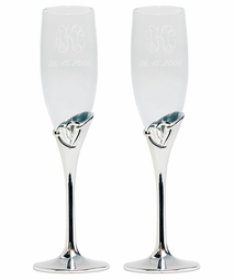 Open Loop Heart Flutes - Personalized