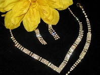 Panama- Gorgeous 3pc gold necklace set