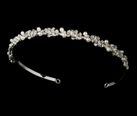 Perlina - Elegant pearl and rhinestone headband