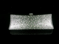 Pina - Couture elegance swarovski crystal clutch evening purse - SALE