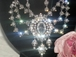 Queen Armentine - Royal Crystal Wedding Necklace Set - SPECIAL!! one left