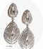 Rachel - Dramatic rhinestone drop earrings -15% off use code (jewel15)