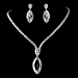 Rebecca - Stunning Dramatic CZ Jewelry Set - SALE!