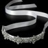 Ribbon Vintage Crystal Bridal Headpiece