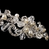 Roma - Romantic freshwater pearl crystal wedding headband - SALE