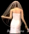 Romantic and Elegant crystal pearl edge bridal veil - SALE