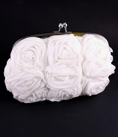 Rosabellina - Beautiful rose wedding purse - SALE - a few left