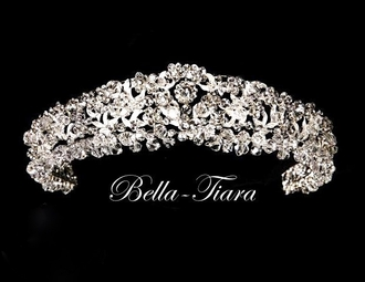 Royal Collection dazzling crystal bridal headband