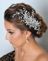 Royal Collection - Dazzling Swarovski crystal bridal comb - SALE!! OUT OF STOCK