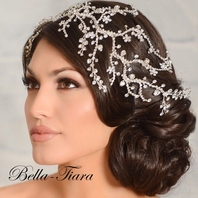 Royal Collection - Exquisite Swarovski crystal hair vine