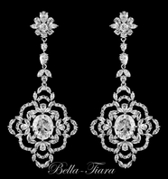 Adoria - Royal Collection stunning CZ earrings