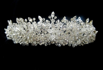 Royal Collection- Sparkling Swarovski crystal headpiece - SPECIAL one left
