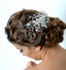 Royal Collection - Sparkling swarovski  wedding comb spray - SALE