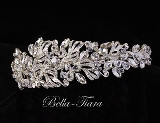ROYAL COLLECTION - Stunning Swarovski crystal headpiece - SALE