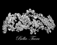Arana - ROYAL COLLECTION -  Swarovski crystal wedding headpiece - SPECIAL