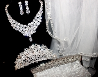 RENTAL COLLECTIONS - HEADPIECE, JEWELRY VEIL SETS