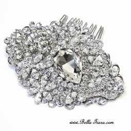 Royalty - Royal Collection dazzling wedding hair comb - SALE
