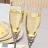 Wedding Champagne Flutes and Server Set<br><i>Custom Engraving</i>