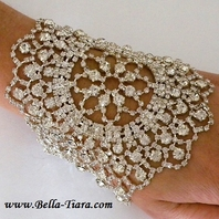 Sikora - SPECTACULAR Designer inspired vintage wedding  bracelet - SPECIAL two left