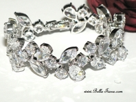 Simona -Couture Elegant CZ bracelet - 15% off use code (jewel15)