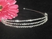 Simple and elegant triple row rhinestone headband - SPECIAL!!!