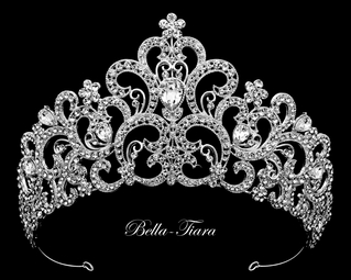 Skyla - Regal crystal wedding Tiara
