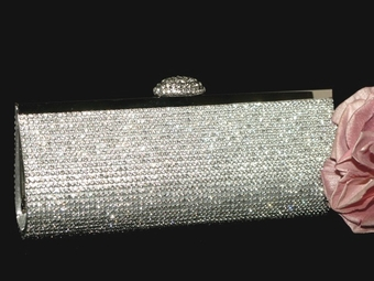 Sole - NEW!! Dazzling Swarovski crystal wholesale price evening clutch purse - SPECIAL