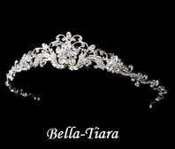 SPECTACULAR high end Swarovski crystal communion tiara - SPECIAL