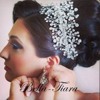 Elia - Royal Collection - NEW!! Spectacular Spray Wedding Headpiece - 15% off use code  (tiara15)