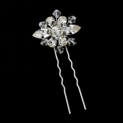 Sposina - Beautiful swarovski crystal bridal pin - SPECIAL SET OF 2