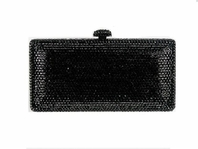 Star Dazzle Black Swarovski Crystal Purse - SALE!!