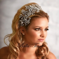 STAR - Royal Collection - Mesmerizing Swarovski crystal wedding headpiece