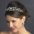 Stunning antique silver off white freshwater pearl tiara - SALE