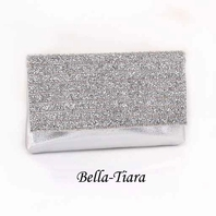 Stunning beaded rhinestone sparkling wallet purse clutch evening bag - SALE