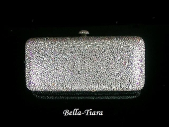 Stunning Crystal evening clutch purse - SALE