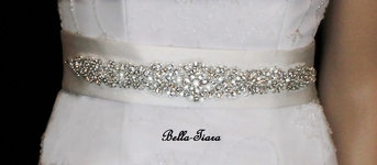 Stunning Pear Cut Design Bridal Belt - SPECIAL