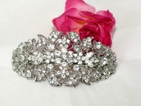 Rhinestone Hair Barrette