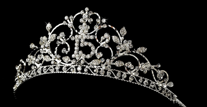 Sweet 16 and Quinceañera  Tiaras