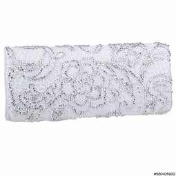 Tanya -- GORGEOUS off white lace Crystals wedding clutch -SPECIAL ONE LEFT 3b91a3bd2c972