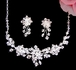 Taylor-Dazzling Swarovski Crystal Necklace set - SALE