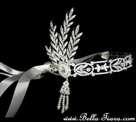 THE GREAT GATSBY headband headpiece inspired Swarovski wedding replica - SPECIAL PRICE!!