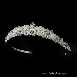 Traditional beauty swarovski crystal wedding tiara - SPECIAL