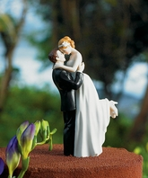 True Romance Couple Wedding cake topper Figurine