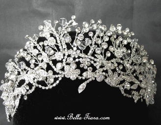 TRUEBEAUTY - Ravishing Swarovski crystal wedding headpiece - SPECIAL PRICE!!
