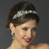 Valentina - GORGEOUS antique silver pearl wedding headpiece  - SPECIAL!!