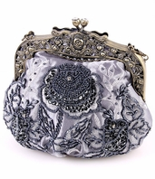 Vintage inspired beaded evening purse - SPECIAL a few left
