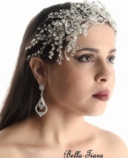 Prime Bridal Wedding Jewelry Hair Accessories Veils Tiaras Short Hairstyles Gunalazisus
