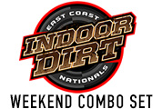 East Coast Indoor Dirt Nationals - December 1-2, 2017 Weekend DVD-Set