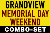 Grandview Speedway 2015 Memorial Day Weekend DVD Combo-Set