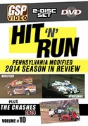 Hit 'n' Run 2014: Pennsylvania Modified Season in Review and Crash DVD Combo-Set